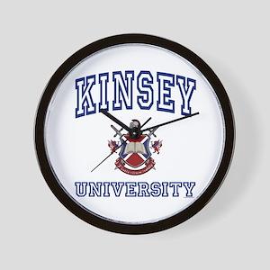 KINSEY University Wall Clock