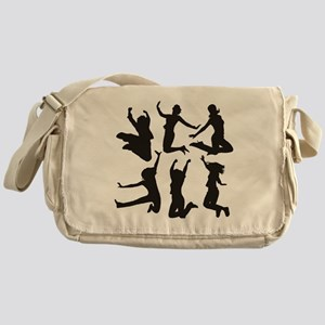 dancing girls Messenger Bag