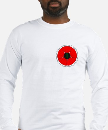 Goddess Poppy Long Sleeve T-Shirt