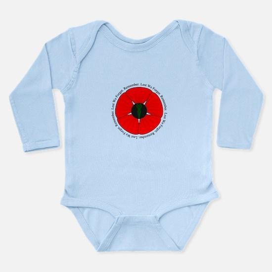 Goddess Poppy Long Sleeve Infant Bodysuit