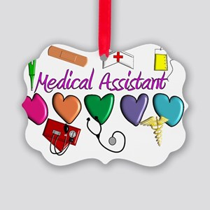 Medical Assistant Picture Ornament