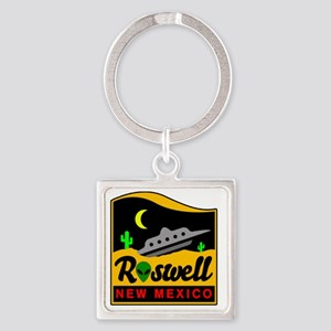 Roswell Square Keychain