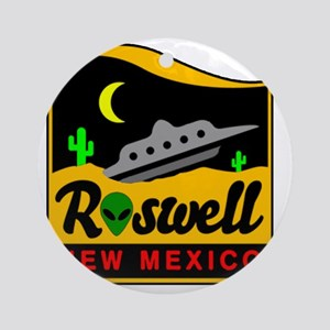 Roswell Round Ornament