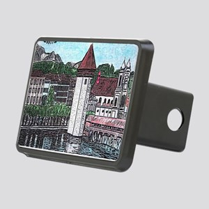 lucerne apparel Rectangular Hitch Cover