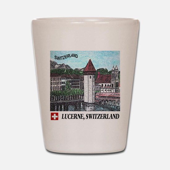 lucerne apparel Shot Glass