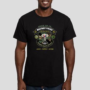 noplntbacklite Men's Fitted T-Shirt (dark)