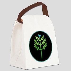 HappyHuggerNoTBr Canvas Lunch Bag