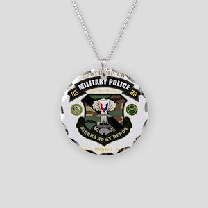nopltnbackdark Necklace Circle Charm