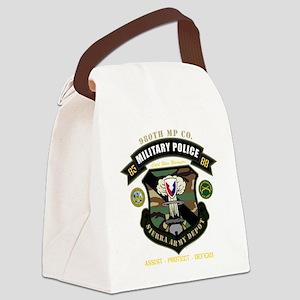 nopltnbackdark Canvas Lunch Bag