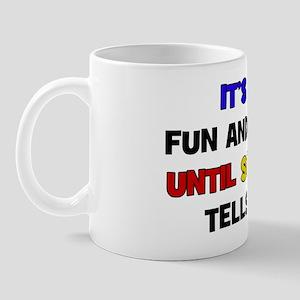 Fun & Games - Dad Mug
