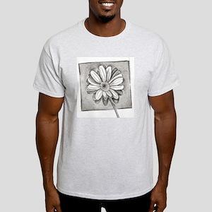 black n black gerbra Light T-Shirt
