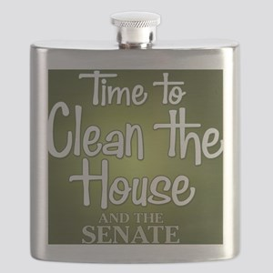 buttons-0405_cleanhouse Flask