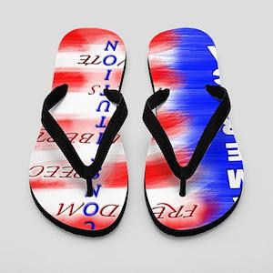 theconstitutionFade Flip Flops