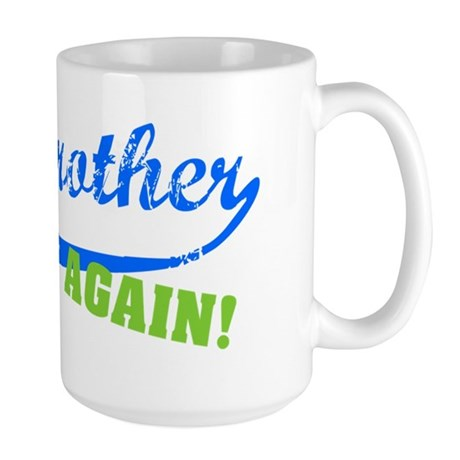 bigbrother_blue_again Large Mug