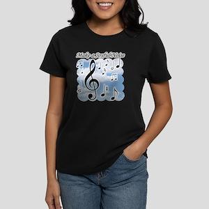 Make a joyful noise Women's Dark T-Shirt