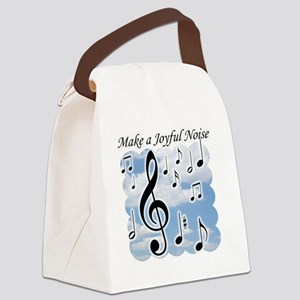Make a joyful noise Canvas Lunch Bag