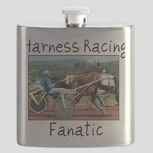 Harness Racing Fanatic Flask