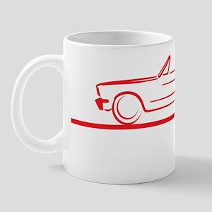 64_66_Mustang_Conv_Red Mug