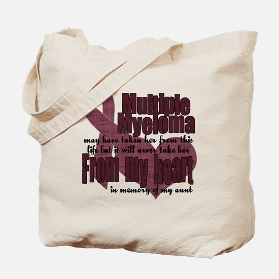 multiple myeloma aunt Tote Bag