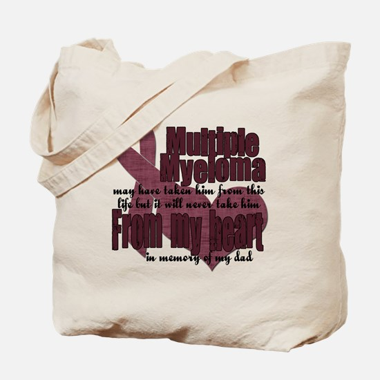 multiple myeloma dad Tote Bag