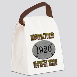 1920 Canvas Lunch Bag