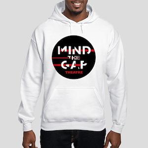 MTGButton_alpha_darkback Hooded Sweatshirt