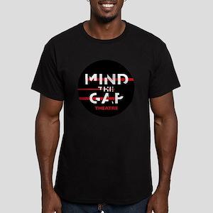 MTGButton_alpha_darkba Men's Fitted T-Shirt (dark)