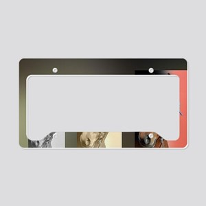 Standardbred Horse Art Portra License Plate Holder