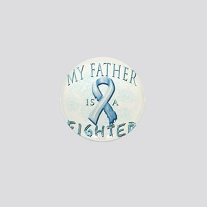 My Father is a Fighter Light Blue Mini Button