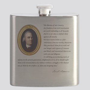 - The liberties of our country Flask