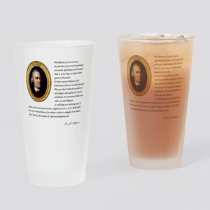 - The liberties of our country Drinking Glass