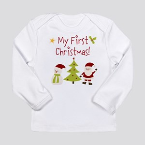 My First Christmas! Long Sleeve T-Shirt