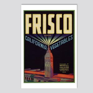 frisco trans Postcards (Package of 8)