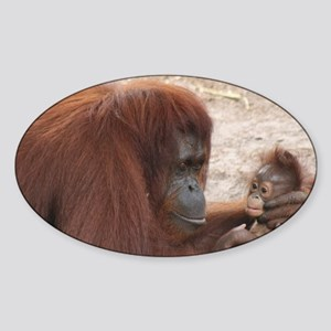 Orangs Sticker (Oval)