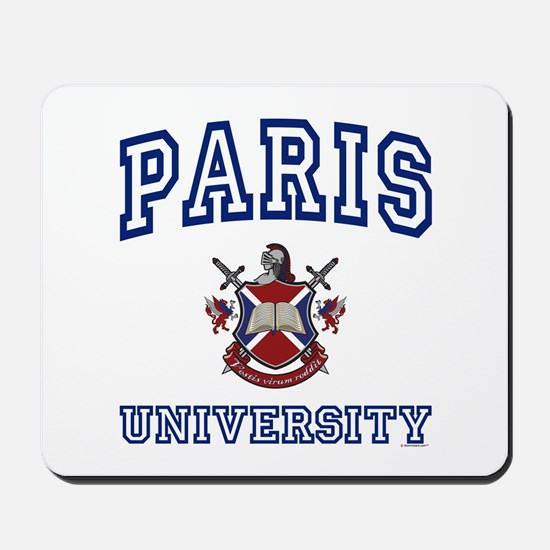 PARIS University Mousepad