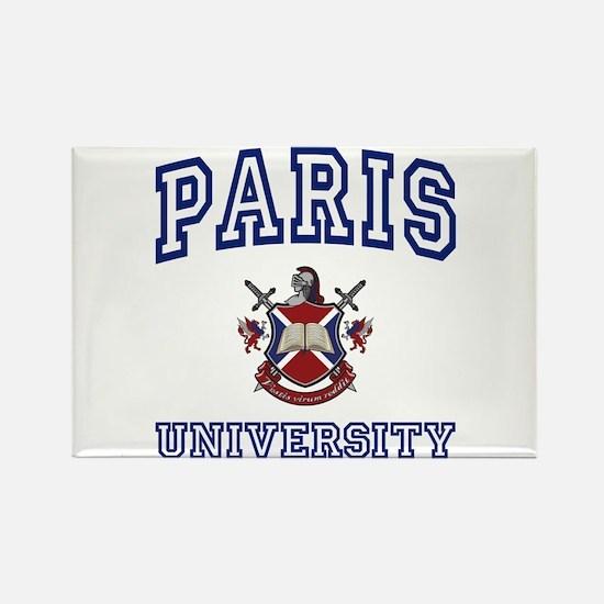 PARIS University Rectangle Magnet