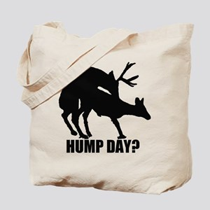 Mule deer hump day Tote Bag
