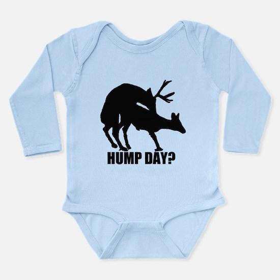 Mule deer hump day Long Sleeve Infant Bodysuit