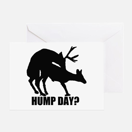 Mule deer hump day Greeting Card