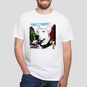 Urban Bull Terrier White T-Shirt