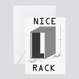 NiceRack Greeting Card