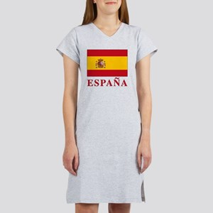 2-Flag_of_Spain3 Women's Nightshirt