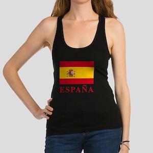 2-Flag_of_Spain3 Racerback Tank Top