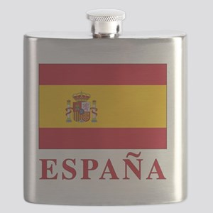 2-Flag_of_Spain3 Flask