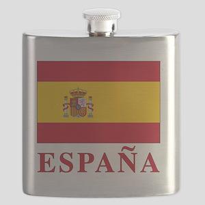 2-Flag_of_Spain3 Flask