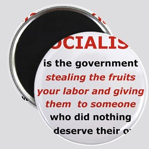 2-SOCIALISM IS THE GOVERNMENT STEALING.. Magnet