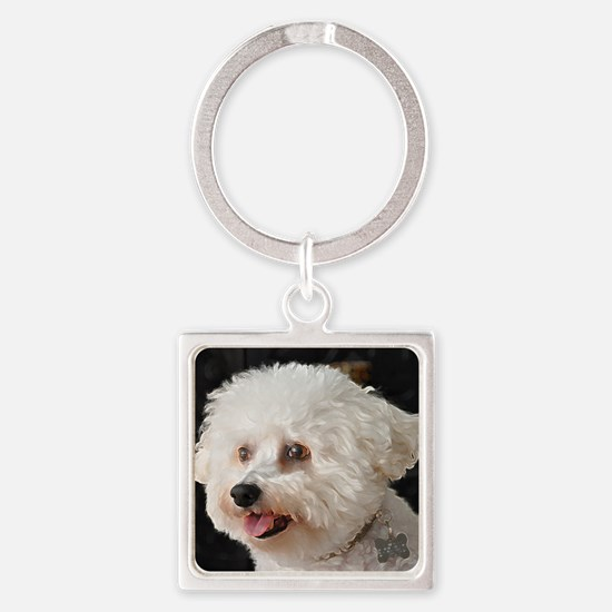 MARCO PAINTING Square Keychain