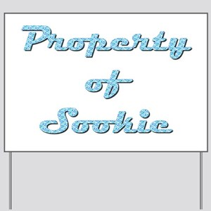 Property Of Sookie Female Yard Sign