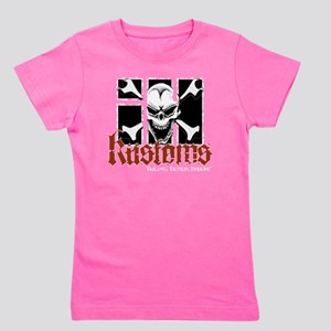 IH Kustoms Logo Large Girl's Tee