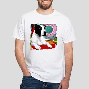 Homeboy Staffy White T-Shirt